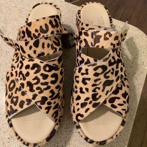 Amuse Cheetah Platform Shoes